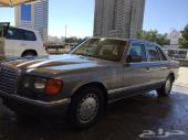 مرسيدس بنز 560 اس اي ال للبيع موديل 1991