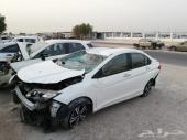سيارة سيتي قطع غيار تشليح 2015