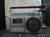 راديو تراثي قديم وشغال