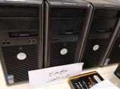 اجهزة كمبيوتر نظيفه HP و Dell  السعر 500ريال