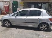 بيجو 307 فل كامل 2000سي سي موديل 2005