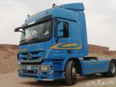 شاحنه مرسيدس أكتروس 2008