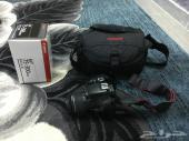 كاميرا كانون 1100d مستعمل ونظيف للبيع
