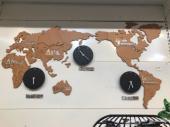للبيع ساعه خريطة العالم