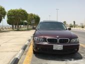 BMW 740 ماشي 160 الف موديل 2007