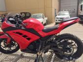 كوزاكي نينجا 300cc (لون أحمر)موديل 2013