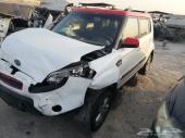 للبيع قطع غيار مستعملة كيا سول 2012 تشليح