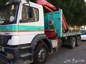شاحنة مرسيدس موديل 2005