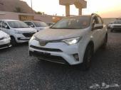 تويوتا راف فور GLI فتحة جنوط مثبت 2018 سعودي
