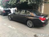 BMW 740 2011 نظيف للبيع السعر(55 ألف ريال)