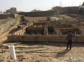 ارض للبيع بدون صك مبني عليها اساس عماره