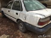 قطع غيار من سياره كورولا 98