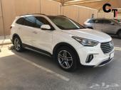 تم البيع - هونداي جراند سنتافي 2017 أبيض نظيف