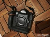 كاميرا نيكون فل فريم 4s