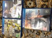 العاب PS4 للبيع فيفا 18 و فيفا 17 وباتلفيلد1