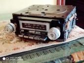 راديو سيارات كلاسيك مزود بمدخل للجوال AUX