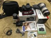 كاميرا كانون 60D شبه جديدة وعدسة 70-200mm