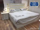غرفة نوم عصرية جديدة بدولاب 8 ابواب