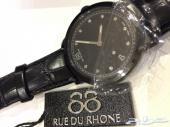 ساعة اصلية وجديدة الماس جلد فاخر