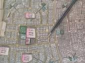 للبيع أرض زاويه فى 209 مساحه 875 م 220 الف