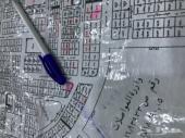 للبيع ارض في ظهرة لبن المساحة 877 شارعين