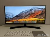 شاشة منحنية 29 انش من LG للبيع 2560x1080 75hz