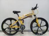 دراجات هوائيه سياكل المنيوم وزن خفيف تنصفط