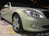 مرسيدس بانوراما حجم S600 جفالي  قمة النظافة