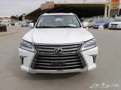 لكزس LX 570 موديل 2017 فل سعودي الممشي 82 الف