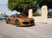 أودي R8 سيارة رياضية Audi R8- Sport Car