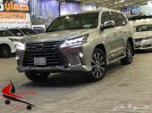 جيب لكزس LX570 موديل 2018 سعودي نص فل