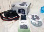 Canon 7D camra  only Body  weth full box