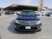 لكزس LX 570 موديل 2012فل سعودي الممشي 157 الف