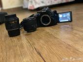كامير NIKON 5200 وكاميرCANON D400  للبيع
