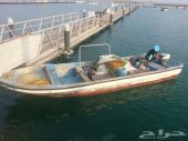 للبيع قارب صيد مع نقل كفالة عدد2 عمال