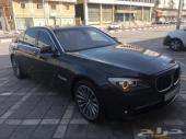 BMW 740L فل اوبشن موديل 2012 وكاله للبيع