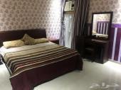 شقة مؤثثة غرفتين للايجار بحي الصفا 12
