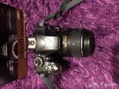 كاميرا نيكون احترافية شبه جديدة D3300