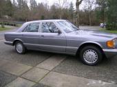 للبيع مرسيدس 300SE موديل 1988 مالك واحد...