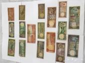 طقم عملات ورقي سعودي من عبدالعزيز الى خالد