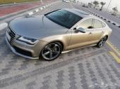 Audi A7 2012  ممشى قليل ومنية المستخدم
