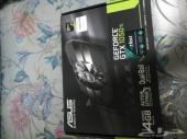 كرت شاشة Asus GTX 1050 Ti 4Gb
