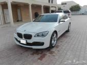 بي أم دبليو BMW 750i موديل 2014 أخو الجديد