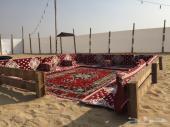مخيم حياكم للإيجار بالدمام على طريق الرياض