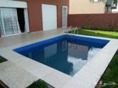 فيلا راقية 3 غرف للإيجار بمدينة مراكش بالمغرب