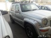جيب ليبرتي 2004 م للبيع أو للبدل بسيارة صغيرة