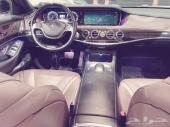 مرسيدس S500 لارج 2014 اعلى فئة ونظيف جدا