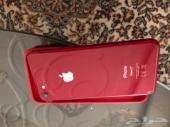 ايفون 8 اللون أحمر 64 جيجا استخدام 8 شهور