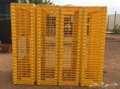 للبيع اقفاص صفراء للتحميل الدجاج والحمام