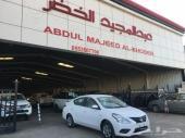نيسان صني 2019 سعودي لدى معرض عبد المجيد الخضر للسيارات.الرياض الشفاء